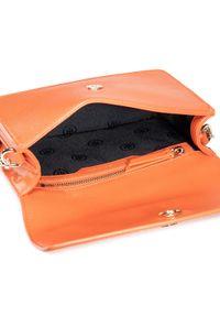 Pomarańczowa torebka klasyczna TOMMY HILFIGER klasyczna