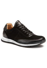Digel - Sneakersy DIGEL - Surfer 1001926 10. Okazja: na spacer, na co dzień. Kolor: czarny. Materiał: skóra, zamsz. Szerokość cholewki: normalna. Styl: klasyczny, sportowy, casual