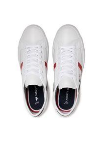Lacoste Sneakersy Sideline Tri2 Cma 7-39CMA0052407 Biały. Kolor: biały #5
