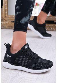 Czarne buty sportowe IVET na co dzień, na fitness i siłownię