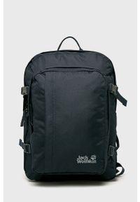 Niebieski plecak Jack Wolfskin gładki