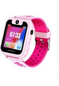 Smartwatch Roneberg RS6 Różowy. Rodzaj zegarka: smartwatch. Kolor: różowy
