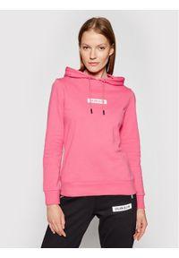 Różowa bluza Calvin Klein Performance