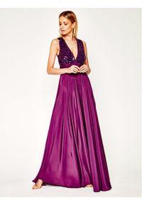 Fioletowa sukienka wieczorowa Manila Grace