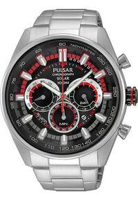 Zegarek Pulsar Zegarek Pulsar Solar męski chronograf PX5017X1 uniwersalny