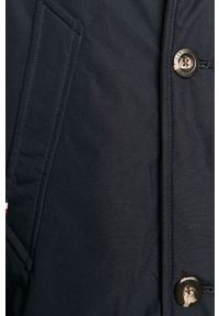 Niebieska kurtka TOMMY HILFIGER z kapturem