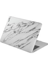 Białe etui na laptopa LAUT
