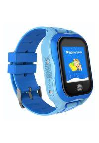Niebieski zegarek FOREVER elegancki, smartwatch