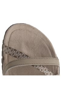Beżowe sandały trekkingowe Merrell