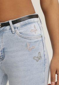 Niebieskie jeansy Renee #5
