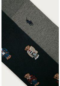 Wielokolorowe skarpetki Polo Ralph Lauren z aplikacjami