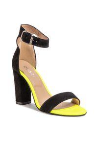 Czarne sandały QUAZI eleganckie