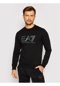 EA7 Emporio Armani Bluza 6KPM60 PJ05Z 1200 Czarny Regular Fit. Kolor: czarny