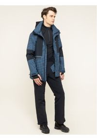 Niebieska kurtka sportowa DC snowboardowa