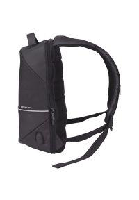 Czarny plecak na laptopa TRACER w paski