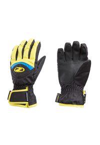 Żółta rękawiczka sportowa Ziener Gore-Tex, narciarska