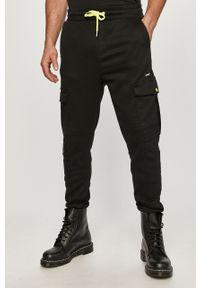 Czarne spodnie Desigual gładkie