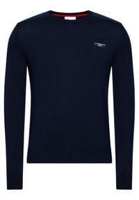 North Sails Sweter PRADA Jumper 451001 Granatowy Regular Fit. Kolor: niebieski