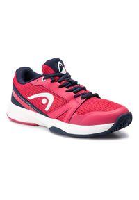 Różowe buty do tenisa Head