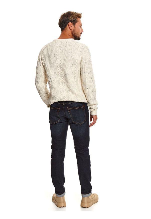 Niebieskie spodnie TOP SECRET