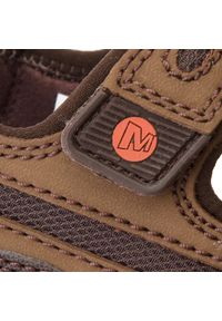 Merrell - Sandały MERRELL - Sandspur Oak J276753C Dk Earth/P.Clay. Kolor: brązowy. Materiał: skóra, skóra ekologiczna, nubuk, materiał. Sezon: lato