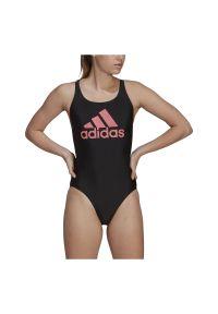 Adidas - Strój kąpielowy damski adidas SH3.RO Big Logo GM3883. Materiał: nylon, materiał, elastan