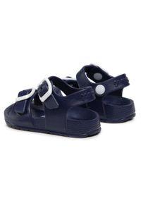 Garvalin - Sandały GARVALIN - 202815 A-Azul. Kolor: niebieski. Sezon: lato. Styl: klasyczny