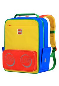 Czerwony plecak LEGO casualowy
