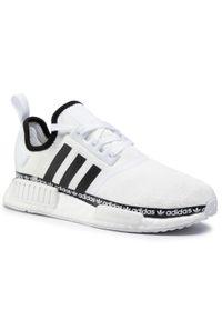 Białe buty sportowe Adidas z cholewką, Adidas NMD