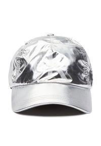 Srebrna czapka z daszkiem Calvin Klein Jeans