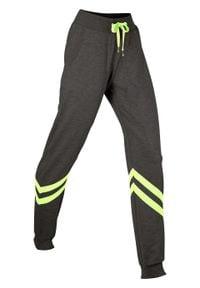 Spodnie dresowe, długie, Level 1 bonprix Spodnie dres dł. L1 an.m-ż.n. Kolor: szary. Materiał: dresówka. Długość: długie