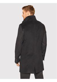 Oscar Jacobson Płaszcz wełniany Storviker 7154 9049 Granatowy Regular Fit. Kolor: niebieski. Materiał: wełna