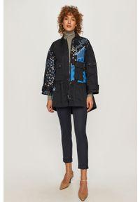 Niebieskie spodnie materiałowe MAX&Co. na co dzień, casualowe