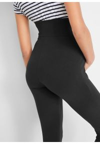 Czarne spodnie bonprix moda ciążowa