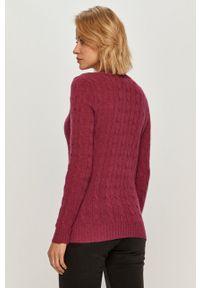 Różowy sweter Polo Ralph Lauren casualowy, polo