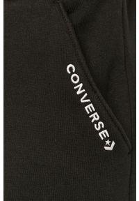 Czarne spodnie dresowe Converse