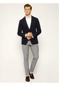 Baldessarini Spodnie materiałowe Jorck 16836/000/2297 Szary Slim Fit. Kolor: szary. Materiał: elastan, bawełna, materiał #2