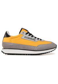 Napapijri Sneakersy Vantage NP0A4F25Y Żółty. Kolor: żółty