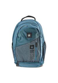 Big Star Accessories - Plecak BIG STAR HH574184 Niebieski/Szary. Kolor: niebieski, wielokolorowy, szary