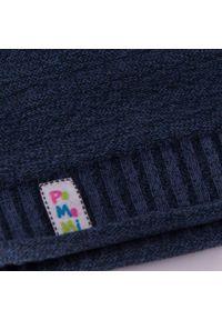 Wiosenna czapka dziewczęca PaMaMi - Ciemnoniebieski. Kolor: niebieski. Materiał: bawełna, elastan. Sezon: wiosna #3