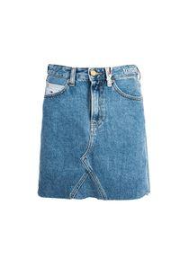 TOMMY HILFIGER - Tommy Jeans Spódnica. Okazja: na co dzień. Materiał: jeans. Styl: casual