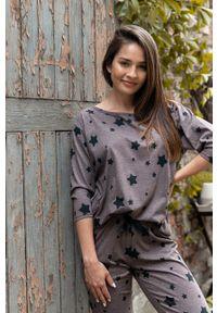 Sensis - Piżama Woman Star. Kolor: fioletowy. Materiał: dzianina
