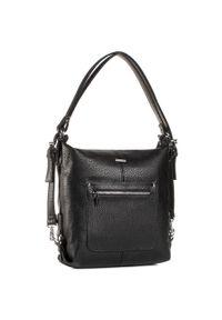 Czarna torebka klasyczna Wittchen casualowa