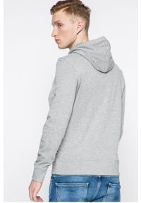 Szara bluza nierozpinana PRODUKT by Jack & Jones z kapturem