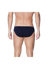 Kąpielówki pływackie męskie Nike Poly Brief TNESS4030. Materiał: tkanina, poliester, materiał. Długość: krótkie