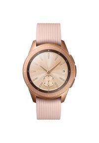 Różowy zegarek SAMSUNG smartwatch