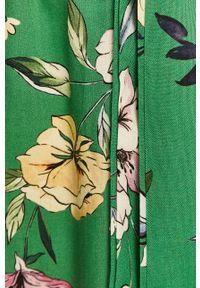 Zielona sukienka ANSWEAR wakacyjna, na co dzień