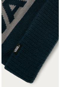 Niebieska czapka Vans