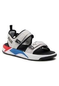 Sandały PUMA - Rs-Sandal 374862 03 Gray Violet/Puma White. Kolor: szary. Materiał: materiał