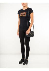 Armani Exchange T-Shirt 8NYTDL YJ73Z 6231 Czarny Slim Fit. Kolor: czarny
